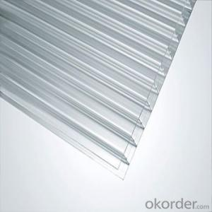 Pc Hollow Sheet Polycarbonate Roofing Sheet