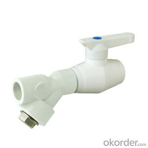 New PPR Ball Valve for Landscape Irrigation Drainage System Made in China