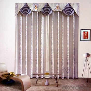 cozy blinds polyester window curtain/blind curtain