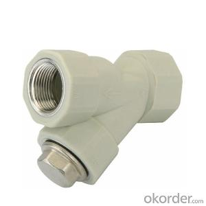 PPR Plastic Double female  threaded  filter