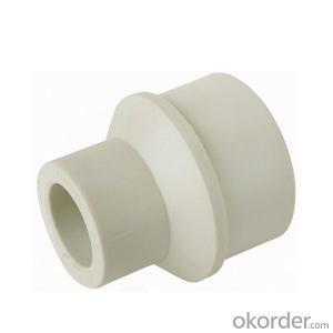 PP-R Plastic Pipe Redution external internal