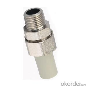 PP-R Plastic Pipe  Long male threaded union