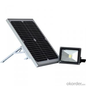 Solar Flood Light BS-9807 UL Listed New Design