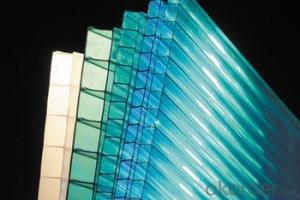 Polycarbonate Hollow Sheet/PC Corrugated Plate