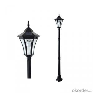 Super Bright Decorative Lamp Post Solar Garden Lamp Post