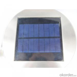 Solar Wall Light with PIR Motion Sensor