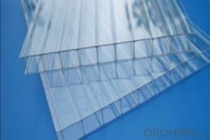 Roofing Sheets/Polycarbonate Hollow Sheet