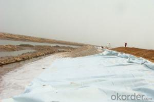 Polyester Civil Woven Geotextiles for Road Construction in China