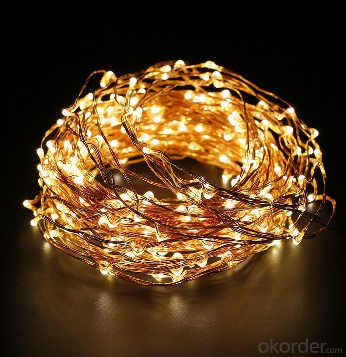 Buy Yellow Fairy Light Flexible Led Mini Copper Wire