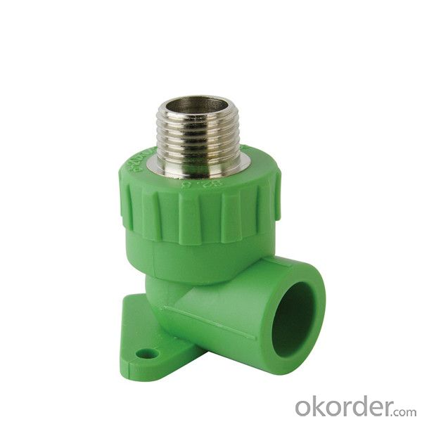 Male Threaded Elbow with Disk with Superior Quality made in China