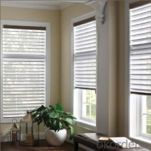 Custom made outdoor wooden blinds window curtains from china