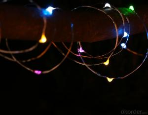 Coloful Fairy Light Flexible Led Mini Copper Wire String Lights Led Christmas Lights