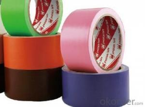 Cloth tape Bag Sealing Single Sided  colored