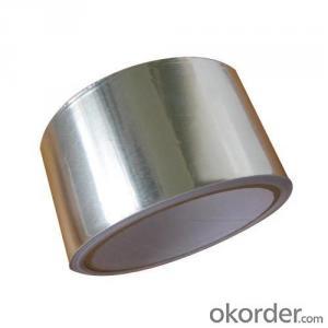 Aluminum Foil No Printing  Sliver Adhesive Tape