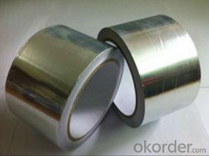 Aluminum Foil Tape Silver Carton Sealing