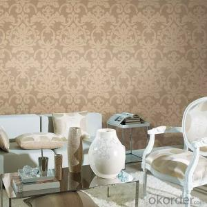 Metallic Wallpaper for Living Room Decoration