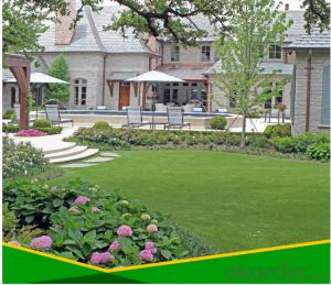 Artificial Grass or turf used in garden and wedding