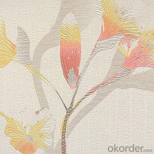 Natural Material Wallpaper Heat Resistant For Sale