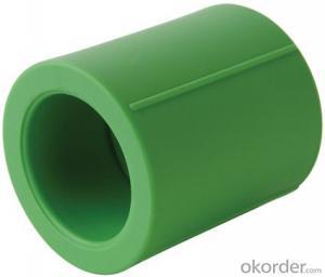 Polypropylene-Random Plastic pipe coupling
