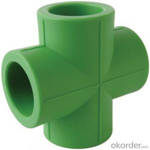 Polypropylene-Random Plastic pipes Cross