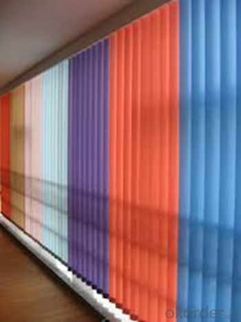 Fringe Vertical Blinds Curtains For Office Or Living Room