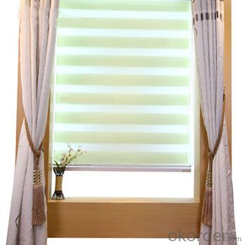 Buy Office Automatic Curtains Motorized Octoganal Window