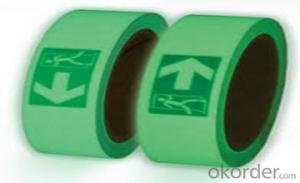 Glow tape  Self-adhesive  Warning Tape  Waterproof
