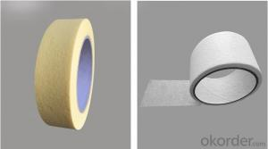 Heat Resistant Masking Tape with Paper Attached Crepe Paper Tape