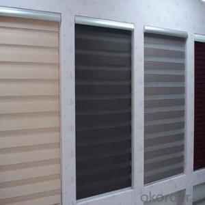 Blackout Vintage Style Blinds Roller Door Curtains Zebra Blind