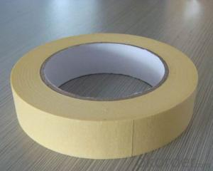 Colorful Skin Crepe Paper Masking Tape with Rubber