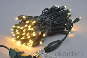 5mm Wide Angle Custom Christmas Led Light String for Home Decoration