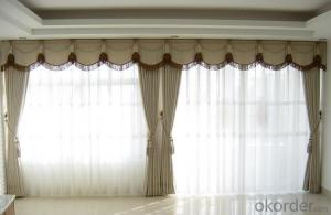 Natural Linen Cotton Clothing Fabric for Decorative Curtains