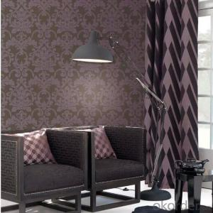 PVC Wallpaper Heat Sensitive 3D Wallpaper