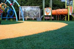 Landscaping Synthetic Grass for Children and Kindergarten