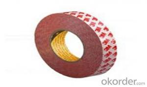 Single Side  Masking Adhesive   Rubber Tape for Auto Painting