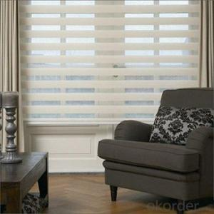 Window Coverings Shangri-la Roller Blinds And Curtain For French Doors