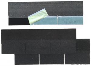 3-Tab Fiberglass Asphalt Shingle / Asphalt Rooging Shingle