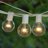 Chinese G50 Patio Globe String Decoration Lights