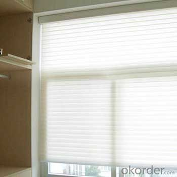 Folding Shangri La Sheer Window Shades