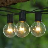 G50 Patio Globe String Lights for Holiady Decoration