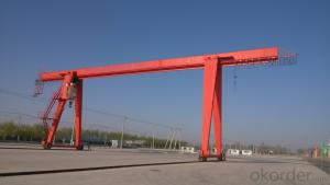 MH Type 3-16T Electric Hoist Gantry Crane(Box Type and Truss Type)