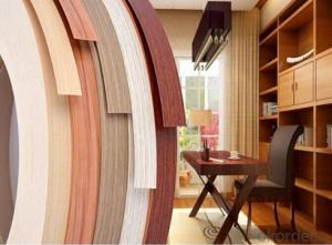 pvc laminated edge band tape home furniture