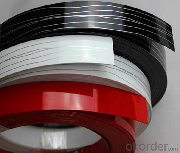 plastic edge banding tape Pressure Sensitive Freon-Proof