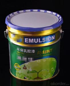 Senior green latex paint  New Building Materials