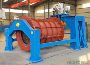 concrete pipe making machine for drainage pipe making