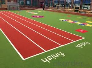 Synthetic PU Running Track with Iaaf Certificate
