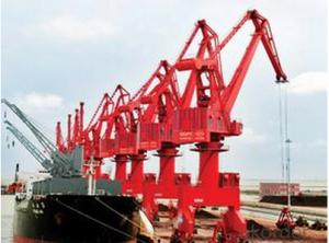 Portal Crane, Anti-sway, Wire-stablizing technology of Grab