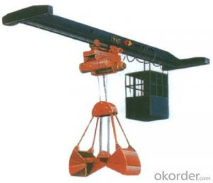 LDZ Electric Single Girder Crane With Hook