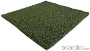 curl golf artificial grass/mini golf putting green