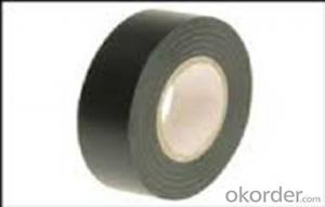 Black PVC Tape for Electrical Insulation and Pipe Packing